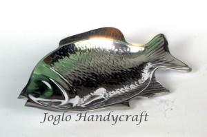Kerajinan Aluminium Piring Ikan Gurameh