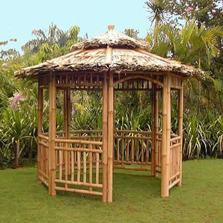 Gazebo bambu jcs8 handycraft - Pergola bambu ...