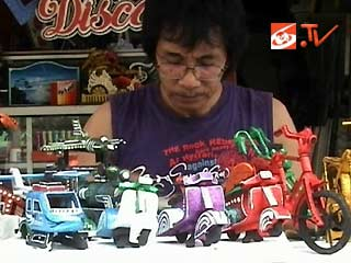 membuat miniatur berbagai jenis kendaraan dari styrofoam Cara Membuat
