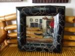 Cermin Bambu Kotak Hitam
